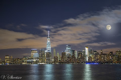 The Great City of New York (Val. Shvetsov) Tags: nyc newyorkcity usa ny newyork night buildings cityscape manhattan newyorkatnight nightcity