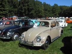 Beige 1957 Beetle (smaginnis11565) Tags: sedan volkswagen newjersey vwbeetle flanders type1 2015 allaircooledgathering 1957beetle
