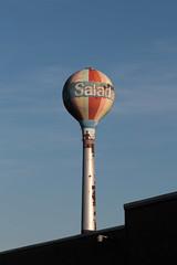 Salada (jschumacher) Tags: littlefalls watertower upstate newyorkstate salada mohawkvalley saladatea littlefallsnewyork