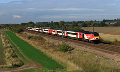 VTEC 43208 and 43296 (dgh2222) Tags: class burn 43 ecml 43208 43296 1e13