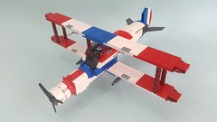 Hawk v2.0 (Hendri Kamaluddin) Tags: sky plane airplane lego aircraft airship airforce squadron moc fighterplane skyfi fantasyplane victorysquadron