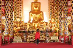 The Royal Temple of Wat Suan Dok (THE GLOBAL GIRL) Tags: travel art girl thailand temple gold travels asia southeastasia buddha wanderlust mai wat chiang global sacredsites globalliving suan dok ndoema theglobalgirl theglobalgirlcom theglobalgirltravels globallifestyle