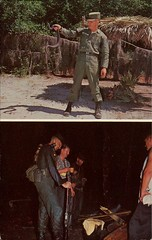US Army's Infantry School's Florida Ranger Camp (SwellMap) Tags: postcard vintage retro pc chrome 50s 60s sixties fifties roadside midcentury populuxe atomicage nostalgia americana advertising coldwar suburbia consumer babyboomer kitsch spaceage design style googie architecture