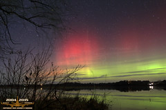 Solar Storm 11/3/15 (Winglet Photography) Tags: storm wisconsin night canon dark solar nighttime aurora 7d dslr northernlights auroraborealis stockphoto geomagnetic auroraville wingletphotography georgewidener georgerwidener