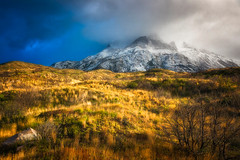 The Silver Lining (Paul Weeks Photography) Tags: chile travel light patagonia sunlight mountains southamerica nature outside outdoors hiking scenic warmth adventure explore torresdelpaine wilderness painegrande epiclight