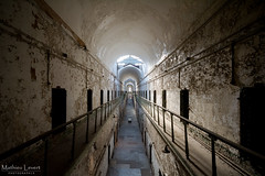 Wailing row (Vernamm2) Tags: philadelphia point nikon view state pov sigma wideangle explore prison philly eastern penitentiary 2015 explored visitpacom