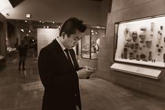 emptyROM (MorboKat) Tags: toronto ontario building history glass monochrome museum architecture media gallery phone display empty egypt case galleries rom royalontariomuseum ancientegypt tweet twitter galleriesofafricaegypt livetweet emptyrom