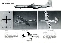 AF Manual 355-10 (1955) / Convair B-36 Peacemaker (Digital Vigilante) Tags: 1955 peacemaker bomber usairforce b36 convair aircraftidentification b36peacemaker afmanual35510