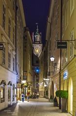 Salzburg at blue hour... (Peppis) Tags: salzburg night austria österreich nikon nightlights nightshot bluehour nationalgeographic salisburgo nightimage fotonotturne orablu peppis anticando hccity nikond7000 nikonclubit