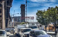 Skyline--Silvercup (PAJ880) Tags: plaza new york nyc bridge skyline construction queens studios queensboro silvercup