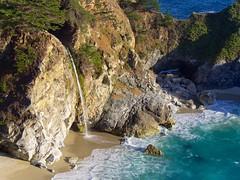 McWay Falls (Travis Estell) Tags: california mcwayfalls waterfall bigsur explored
