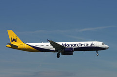 A321 G-OZBG Monarch Co UK (Avia-Photo) Tags: london plane airplane airport pentax aircraft aviation jet aeroplane airline airbus airlines flugzeug spotting airliner gatwick avion airliners planespotting aviacion luftfahrt egkk