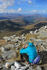 Checking out the long-term forecast on Meall nan Ceapraichean