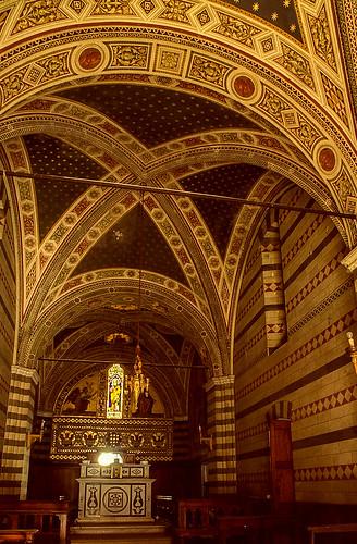 Chapel at Castello di Brolio