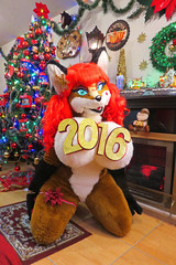 AURORA SPENCER HAPPY NEW YEAR (aurorathelittlevixen) Tags: sexy girl foxy furry mexican aurora fox spencer fandom vixen selene fursuit garrido supervixen superbabsy123