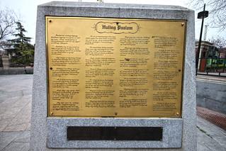 Rizal Monument - Madrid