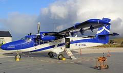 G-HIAL Viking Twin Otter (GSairpics) Tags: ghial twinotter dhc6 loganair flybe barra barraairport outerhebrides scotland beach sand sandrunway brr egpr barraeoligarry traighmhrbay airplane aviation graham gsairpics