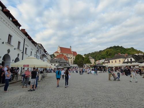 Kazimierz-Dolny, market square