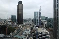 Up On The Roof (crashcalloway) Tags: 6bevismarks cityoflondon london skyline skyscrapers tower42 natwesttower 99bishopsgate openhouselondon2016 openhouse