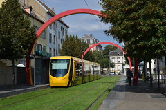 21.09.2016 (VIII); Tram in Mulhouse (chriswesterduin) Tags: mulhouse tramtrein tram siemens alsthom sola sncf