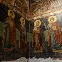 Mural, Church of St. Stephen, Nesebar, Bulgaria (alex_7719) Tags: bulgaria nesebur nesebar nessebar church churchofststephen mural painting