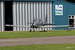 G-KEJY Cosmik Aviation EV-97 TeamEurostar UK, Cotswold Airport, Kemble, Gloucestershire (Kev Slade Too) Tags: gkejy cosmikaviation ev97 teameurostar egbp kemble cotswoldairport gloucestershire