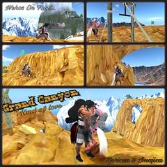 Nekos on foot 3 Grand Canyon (Boricua Flow) Tags: secondlife neko avatar avi sexy busty vamplove hitchhikher boricua adventure explorations openroad mountains