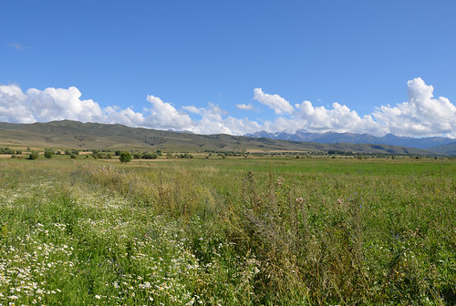 Beautiful land, Issyk Kul, Kyrgyzstan