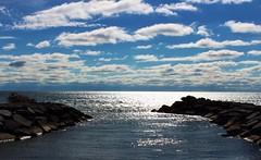 Lake Ontario Horizon (ChrisKnoxPhotography) Tags: water lake lakeontario nature outdoors clouds sky horizon canada ontario