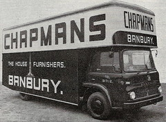 Bedford TK with bodywork by Tiverton. (Sidmouth Ian) Tags: chapmans removals pantechnicon bedfordtk banbury