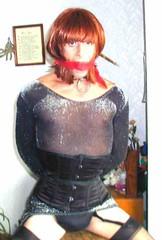 __hr_P1010004 (sub tv Susan from Kent U.K) Tags: bondage bdsm submissive heels hogtied tranny crossdresser