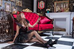 DSC_7503 (Robin Huang 35) Tags:  candy miruna   vampire  halloween  lady girl d810 nikon devil