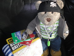 I fancy a piddle! (pefkosmad) Tags: tedricstudmuffin ted teddy bear cute stuffed soft fluffy plush travel holiday week holibob dorset piddletrenthide trip vacances vacation cottage selfcatering car journey packing luggage tourism