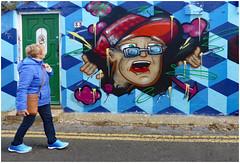 Brighton Blues (donbyatt) Tags: brighton streetart spraycans walls urban graffiti