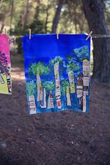 Ode aux arbres (Isaszas) Tags: grandlessive expositionéphémère pleinair travauxcréatifs exhibition tentoonstelling artscréatifs artsplastiques créativité expressions peintures arbres bomen trees baumen créations extérieur outdoor canon eos5d isasza