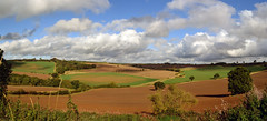 Park Farm (AndyorDij) Tags: panorama fields autumn trees hedgerow england rutland uk unitedkingdom 2016 a47