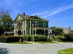 Victorian House (Barbara L. Slavin) Tags: california unitedstates san diego victorianhouse sandiego victorian