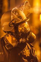 Oakland (Thomas Hawk) Tags: chp california californiahighwaypatrol eastbay johannesmersehle oakland oaklandriots oaklandriots2010 oscargrant usa unitedstates unitedstatesofamerica cop cops gasmask oaklandca070810 police protest riot riots fav10