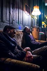 Magic moments (Marks Maksimovs) Tags: sleep sleeping naping couple sofa sitting lamp old retro low light