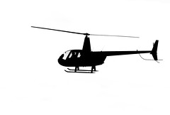Chopper (tom ballard2009) Tags: silhouettes shoreham airfield airport mono blackwhite helicopter