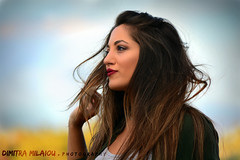 into the wind of thoughts... (dimitra_milaiou) Tags: portrait woman poetry thoughts life live love people face color colour greece maria nikon milaiou dimitra photography light day lovely beautiful moment wind hair long europe model fall blue yellow green red d d7100 7100 70210mm look looking happy happiness book city athens town girl stafyla smile sky lips eyes curves lines pure shape ngc