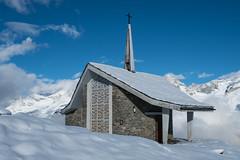 """Chapel """"Bruder Klaus"""" (Tobias Lw Photography) Tags: zermatt switzerland schweiz riffelberg kapelle bruderklaus gornergrat gornergratbahn landscape mountains chapel"""
