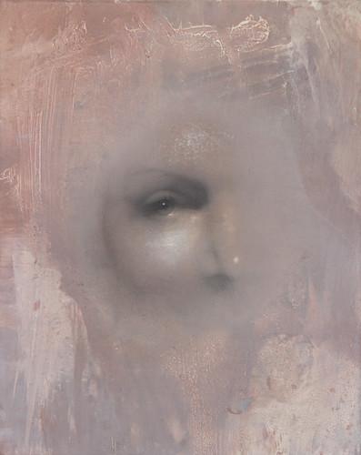 Gavin Tremlett 'Hybris 5', 2016 Charcoal, graphite, oil on linen 50x40cm