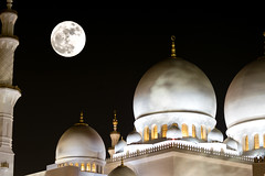 supermoon (leonard_311) Tags: supermoon abu dhabi november14th moon night 2016 full grand mosque sheikh zayed