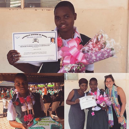 "Our dear, sweet Faraja graduated from P7 this week 💖 We are all so proud of her accomplishments and can't wait to see her excel in secondary school!! She's such a great role model for the little kids at the #tuleeni orphanage and is going • <a style=""font-size:0.8em;"" href=""http://www.flickr.com/photos/59879797@N06/30875857315/"" target=""_blank"">View on Flickr</a>"