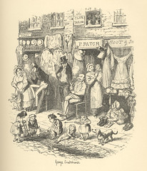 Monmouth Street (Rescued by Rover) Tags: george cruikshank charles dickens sketches boz illustration london 19 century garments fashion life social monmouth street second hand slum poverty