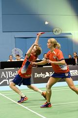 NBLmatch-5100-0483 (University of Derby) Tags: 5100 badminton nbl sportscentre universityofderby match
