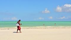 Paje Beach (sagimihaly) Tags: africa tanzania zanzibar summer vacation pajebeach paje indianocean ocean sand whitesand endlessblue beach blue maasai