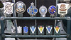 Array of badges on MG PA (robmcrorie) Tags: mg pa ys 6491 car motor ron yates mgcc 1930s mmm register club