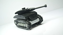 M4 Sherman (MOC) (hajdekr) Tags: tank american usa weapon military vehicle toy lego mini microscale small simple easy basic howto sherman m4 mediumtank buildingblocks ww2 worldwar second war army